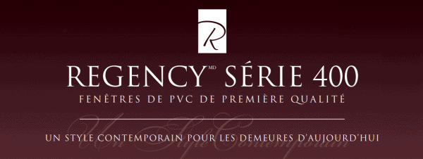 Fenetre Regency serie 400
