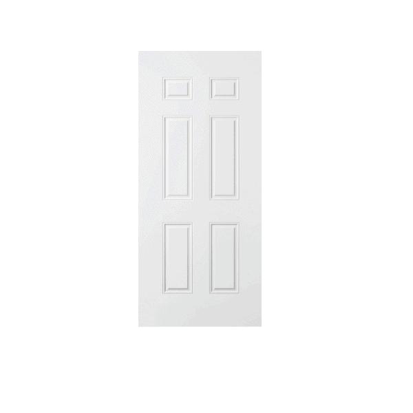 Porte 6 panneaux